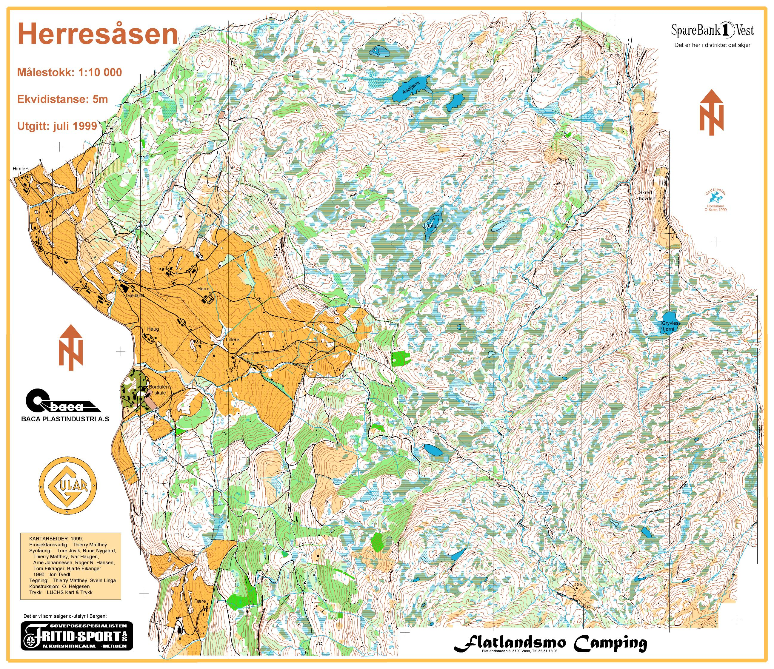 Nordvestgaloppen 1999 Day 2/3 (Map only) (1999-07-04)